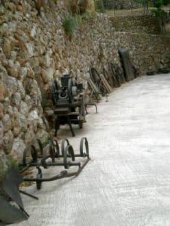 historische Gerätschaften - La Granja