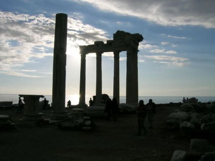 Ausflug nach Side - Apollon Tempel