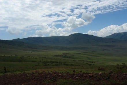 Berg/Vulkan/Gebirge - Ngorongoro Reservat