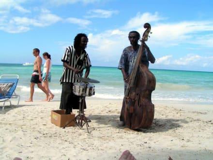 Musiken am Strand von Negril - Negrils 7 Miles Beach