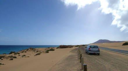 Reichlich Sonne im Januar - Naturpark Dünen von Corralejo