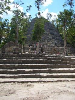 Tempel - Ruinenstätte Cobá
