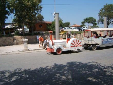 Fortbewegungsmittel in die Altstadt von Side - Transport