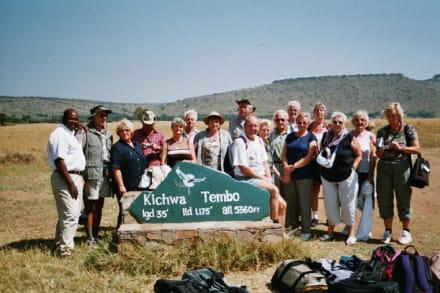 Gruppenbild - Masai Mara Safari