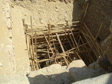 Wurde neu endeckt - Stufenpyramide / Pyramide von Djoser