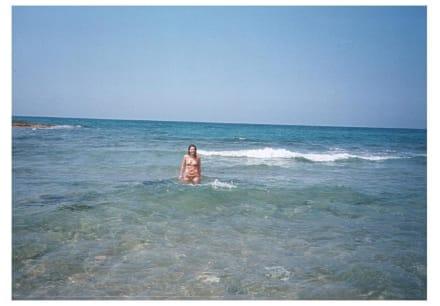 "Glasklares Wasser am "" Tropical Beach""  in Malia - Strand Malia"
