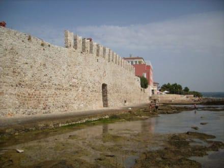 Teil d.alten Stadtmauer - Altstadt Novigrad