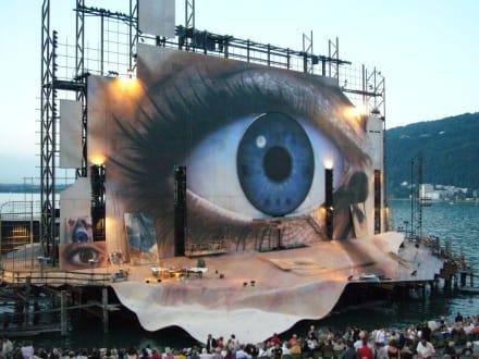 Bühnenbild Tosca 2007 - Bregenzer Festspiele