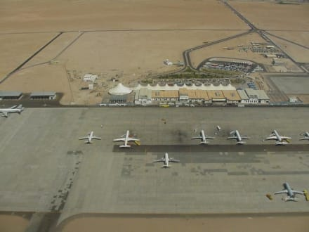 Flughafen Hurghada Luftaufnahme - Flughafen Hurghada (HRG)