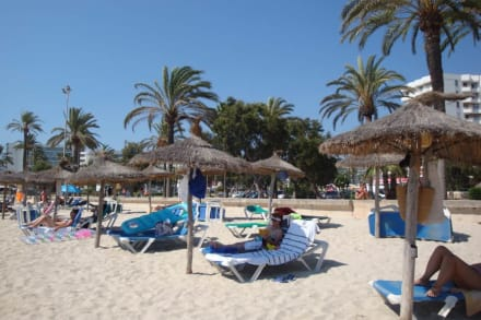 Hier liegt man richtig - Strand Cala Millor