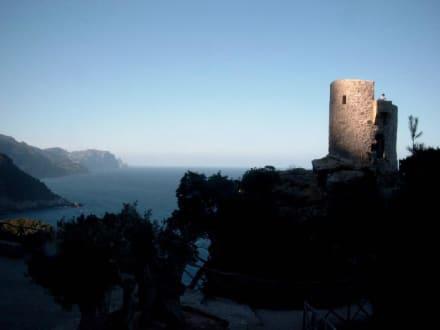 Morgens an der Westküste - Wachturm Talaia de ses Animes