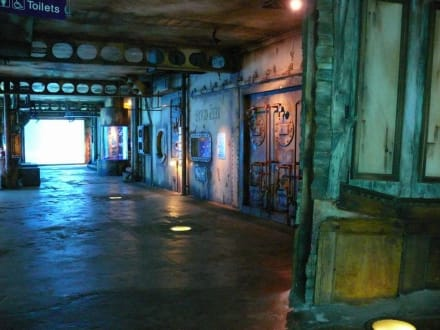 Innenräume des Aquariums - UShaka Marine World