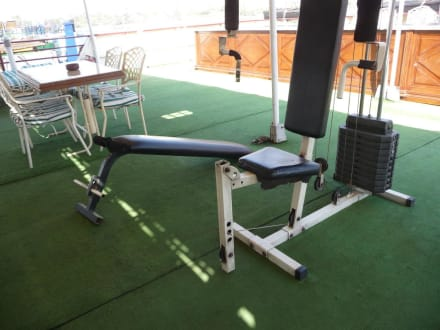 Das Fitnessgerät an Deck - Nile Pioneer