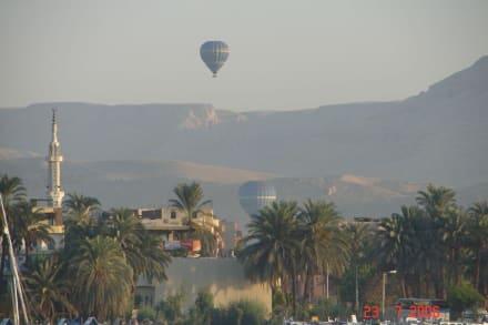 Ballons - Hathor Tempel Dendera