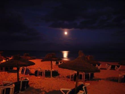 Strand am Abend - Strand Cala Millor