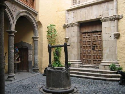Casa de Colón / Innenhof - Casa de Colón