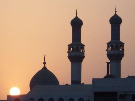 Sonnenuntergang über der Heritage Area - Heritage Area