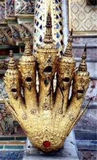 Hände hoch! - Wat Phra Keo und Königspalast / Grand Palace