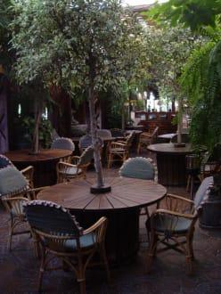 Garten vom Restaurant Molino Blanco - El Molino Blanco