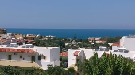 Ausblick vom Balkon -