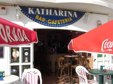 Eingang - Bar Cafeteria Katharina