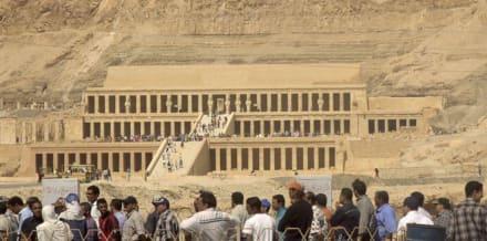Der Tempel - Tempel der Hatschepsut