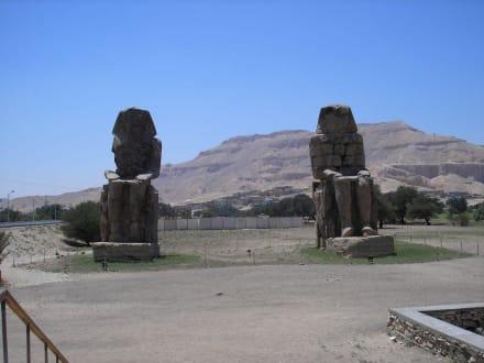 Memnonkolosse - Kolosse von Memnon
