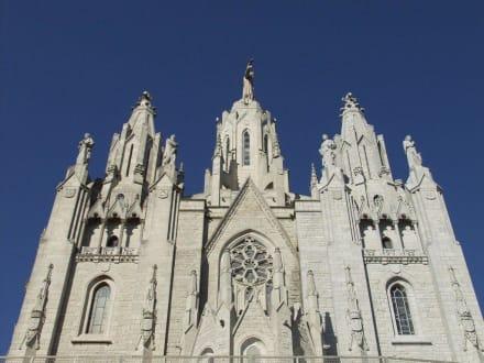 Barcelona, Expiatori del Sagrat Cor - Kirche Tibidabo