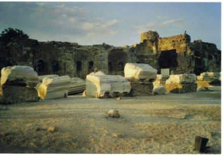 Ruine beim Apollo Tempel - Apollon Tempel