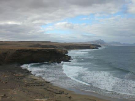 Blick Richtung Süd-West - Strand La Pared