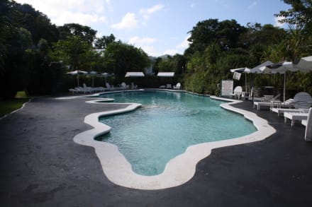 Jamaikförmiger Pool - Hotel Jamaica Palace