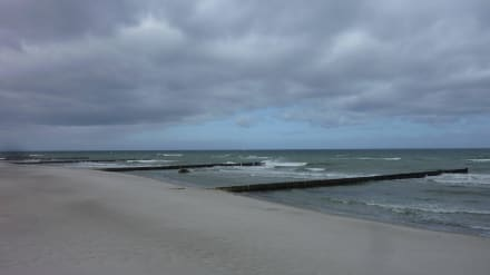 Sandstrand an der Seebrücke - Strand Kühlungsborn