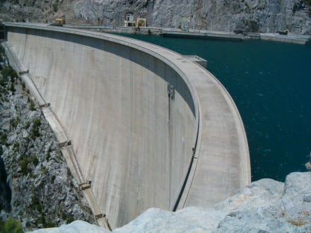 Grosser Staudamm - Oymapinar Baraji/ Stausee Green Lake & Green Canyon