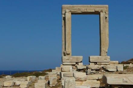 Die Portára von Naxos - Tempel des Apollonas - Portara Naxos