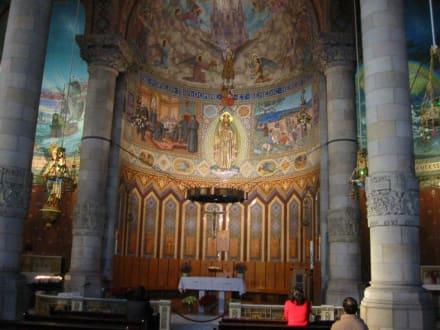 Kirche Sagrat Cor - Kirche Tibidabo