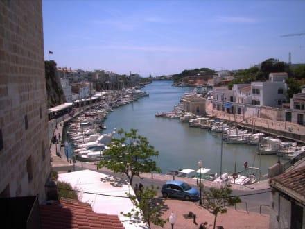 Blick auf den Hafen von Ciutadella - Hafen Ciutadella