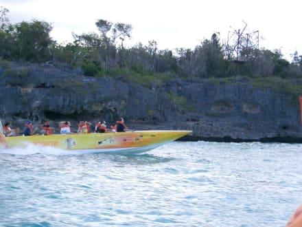 speedboot - Isla Saona