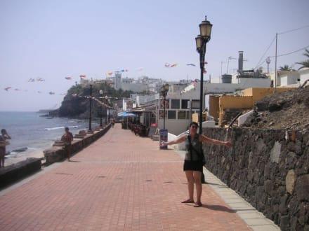Die Promenade von Moro Jable - Strandpromenade Morro Jable