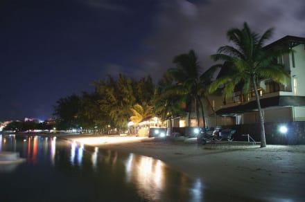 Strand von Grand Baie bei Nacht - Strand Grand Baie