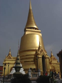 Es ist alles Gold was glänzt - Wat Phra Keo und Königspalast / Grand Palace