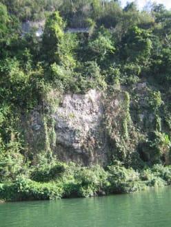 Fahrt mit dem Floß auf dem Chavon - Rio Chavon