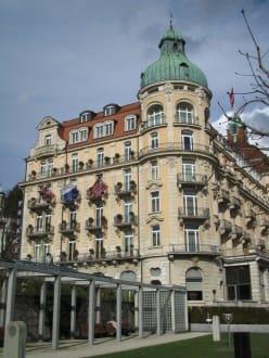 Außenansicht - Hotel Palace Luzern
