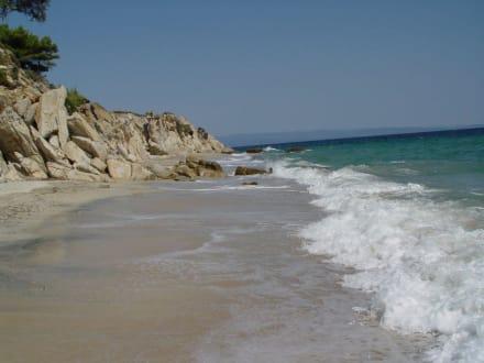 Wild und schön - Strand Vourvourou
