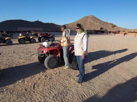in der Wüste - Quad Tour Hurghada