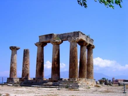 Korinth > Apollon Tempel Überreste - Das antike Korinth