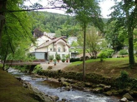 Das Kurtheater im Kurpark von Bad Wildbad - Königliches Kurtheater