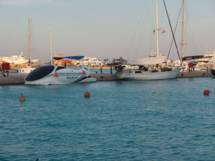 interessante Gestalten - Yachthafen Hurghada