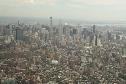 Helikopter Rundflug über Manhattan - Empire State Building
