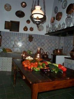 Historische Küche über dem Abaco - Bar Abaco