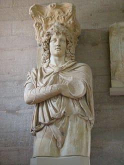 Im Museum der Ausgrabungsstätte - Das antike Korinth
